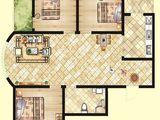 北洋景苑_3室2厅1卫 建面116平米