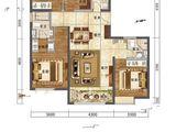 中国铁建西府国际_4室2厅2卫 建面148平米