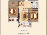 祥和园_2室2厅1卫 建面80平米