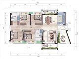 佳兆业东江新城_4室2厅2卫 建面137平米