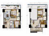 海航万绿园1号_5室3厅4卫 建面103平米