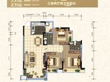 大福名城_3室2厅2卫 建面104平米