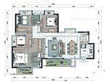 招商雍和府_4室2厅2卫 建面125平米