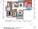 龙湖中央公园_4室2厅2卫 建面144平米