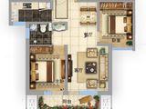 固安阿尔卡迪亚_2室2厅1卫 建面84平米