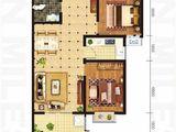 坤泽10里城_2室2厅1卫 建面94平米