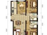 龙TOWN铂悦山_3室2厅2卫 建面116平米