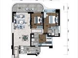 海南碧桂园中央半岛_3室2厅2卫 建面124平米