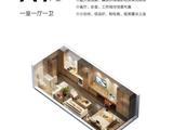京雄世贸港U创领秀城_一室一厅一卫 建面37平米